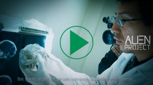 Análisis de rayos X de cabezas momificadas