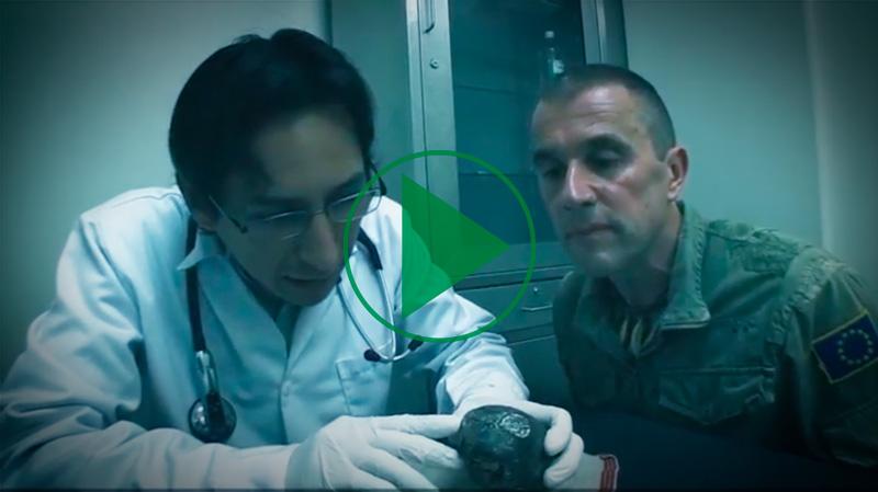 Este es el video que se publicó en la plataforma de crowdfunding de Ulule luego del descubrimiento de extraños cuerpos y órganos momificados