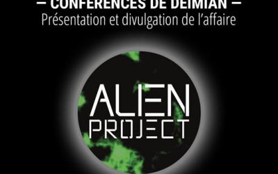 Conférences Alien Project avec Deïmian
