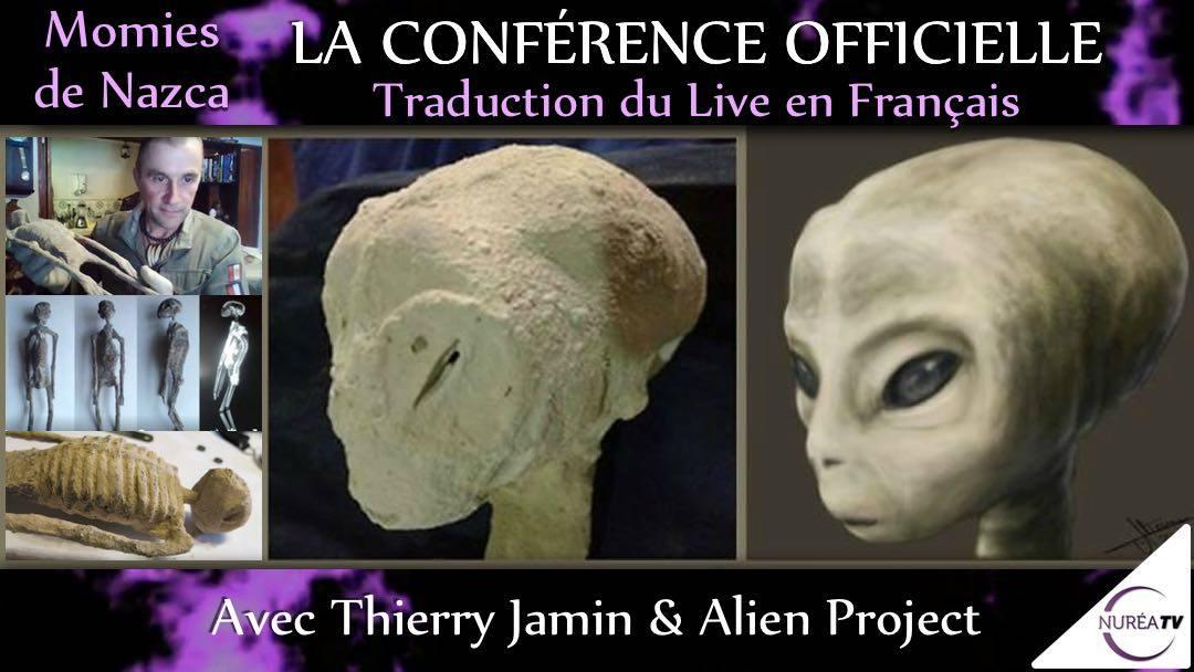Conférence Alien Project sur Nurea TV