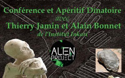 19/10/2017 – Conférence ALIEN PROJECT à Perpignan