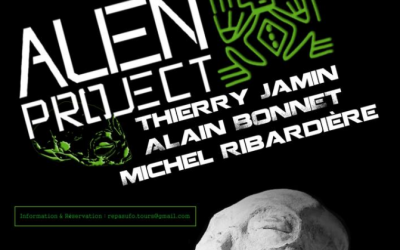 27/10/2017 – ALIEN PROJECT Conférence à Tours