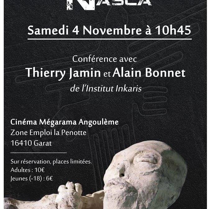 04/11/2017 – Conférence Alien Project à Angoulême