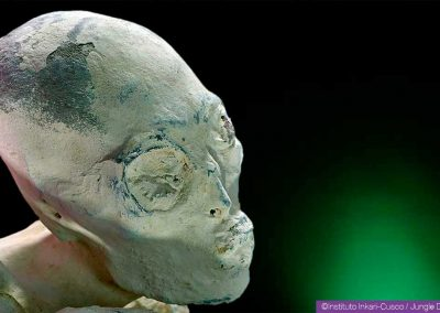 Maria, a hybrid humanoid discovered near Nasca in Peru