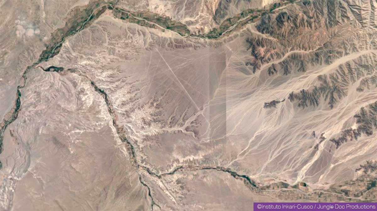 Nazca - Zone de la découverte