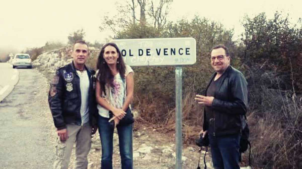 Meeting with Ululeurs Col de Vence