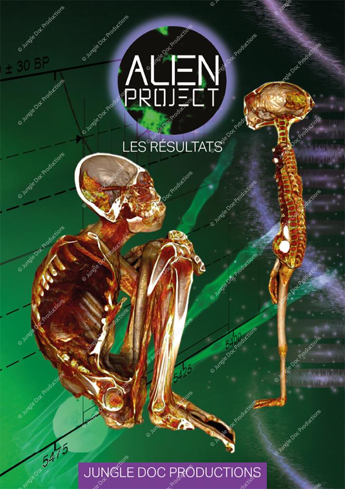 Plaquette Alien Project - Les résultats