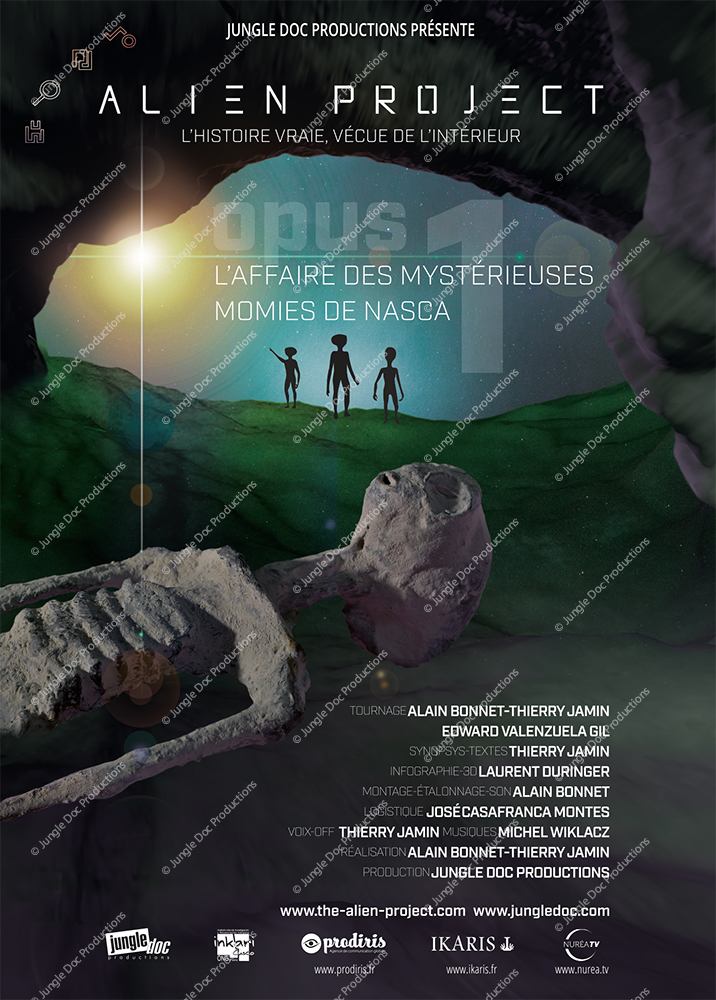 Alien Project Opus 1 - L'affiche